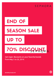 SEPHORA END OF SEASON SALE UP TO 70% DISCOUNT ON GLOBAL ... Sephora Vib Sale Beauty Insider Musthaves Extra Coupon Avis Promo Code Singapore Petplan Pet Insurance Alltop Rss Feed For Beautyalltopcom Promo Code Discounts 10 Off Coupon Members Deals Online Staples Fniture Coupon 2018 Mindberry I Dont Have One How A Tiny Box Applying And Promotions On Ecommerce Websites Feb 2019 Coupons Flat 20 Funwithmum Nexium Cvs Codes New January 2016 Printable Free Shipping Sephora Discount Plush Animals