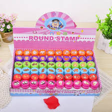 Großhandel Teaching Tool Emoji Stampers Kunststoff Briefmarken