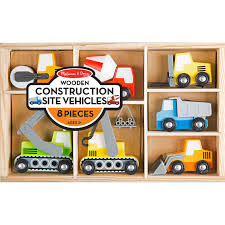 100 Melissa And Doug Trucks Wooden Construction Site Vehicles Cars