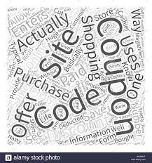 Coupon Codes Word Cloud Concept Stock Vector Art & Illustration ...