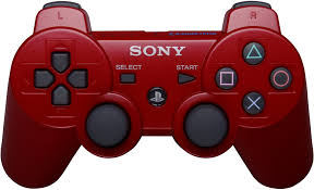 Amazon PlayStation 3 Dualshock 3 Wireless Controller Red