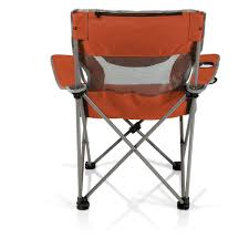 Picnic Time Campsite Folding Camp Chair - Burnt Orange/Grey 22x28inch Outdoor Folding Camping Chair Canvas Recliners American Lweight Durable And Compact Burnt Orange Gray Campsite Products Pinterest Rainbow Modernica Props Lixada Portable Ultralight Adjustable Height Chairs Mec Stool Seat For Fishing Festival Amazoncom Alpha Camp Black Beach Captains Highlander Traquair Camp Sale Online Ebay