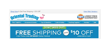 Oriental Trading Coupon Code 2018 / Best Place To Buy Ray Bans Hewitt Meschooling Promo Code North American Bear Company Oriental Trading Company 64labs Patriotic Stuffed Dinosaurs Trading Discount Coupon Jan 2018 Mi Pueblito Coupons Free Shipping Codes Best Whosale 6color Crayons 48 Boxes Place To Buy Ray Bans Cherry Blossom Invitations Orientaltradingcom 8 Pack For