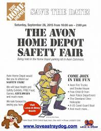 Avon Home Depot Family Safety Fair is Saturday Sept 26
