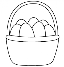 Easter Basket Coloring Pages Getcoloringpages Page Adaq