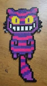 Cheshire Cat Perler Beads By LadyRaveicorn And Like OMG Get Some Yourself Pawtastic Adorable Apparel