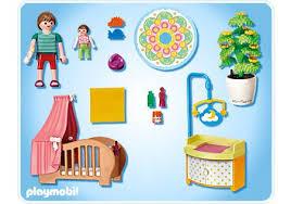playmobil chambre bébé chambre de bébé avec berceau 5334 a playmobil