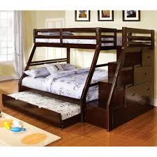 Bunk Beds At Walmart by Furniture Of America Ellington Twin Over Full Bunk Bed With Twin