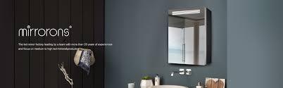china led spiegel spiegelschrank runde badezimmer spiegel