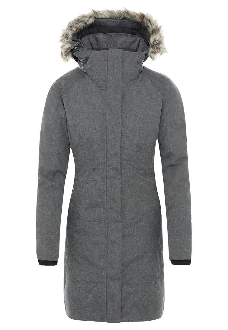 The North Face Women's Arctic Parka II Heather Jacket - Small, Grey