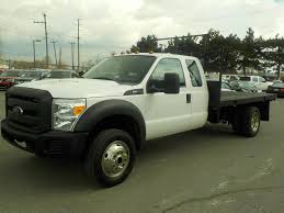 Used 2015 Ford F-550 Flat Deck SuperCab Dually 4WD For Sale In ...