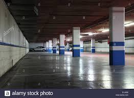 Underground Garage In A Residential Building
