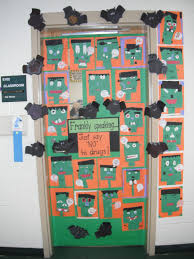 Halloween Door Decorating Contest Ideas by South Carolina Counselor Cafe Red Ribbon Recap