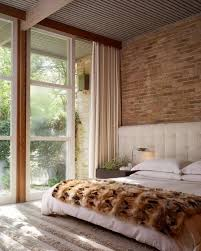 Airy Bedroom With Brick Walls Image Credit Design Rulz