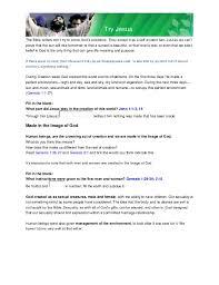 Try Jesus SDA Bible Doctrines
