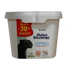 dulux cuisine et salle de bain dulux cuisine et salle de bains blanc satin 3 25l pas
