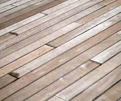 Wood Decking Boards by How To Clean A Concrete Platform Under Deck Boards