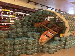 Pedal Bike Tours On Twitter Look At This Safeway Grocery Store Display Of KonaBrewingCo In Honolulu An Artists The Team