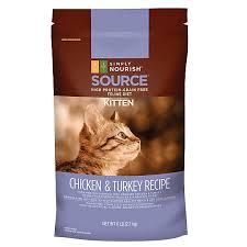 high protein cat food simply nourish source kitten food grain free high