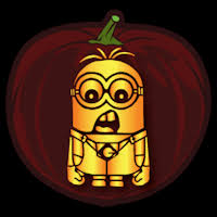 Minion Carved Pumpkins by Despicable Me Minion 02 Co Stoneykins Pumpkin Carving Patterns