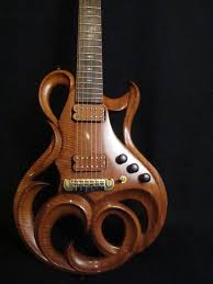 Phoenix Hand Carved Electric Guitar By Rigaud Guitars Click Through For Detailed