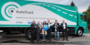 100 Auto Truck Transport Orten Hands Over E 180 AX Electric Truck To Fraunhofer IVI