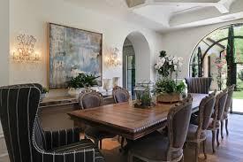 Mediterranean Dining Room On