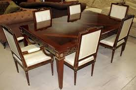Lot 12 Of 167 John Widdicomb Dining Room Table And 6 Chairs
