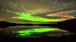 Northern Lights and Loons • Loon Lake in Nevis Minnesota