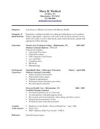 Sample Nursing Assistant Resume Examples Resumes Entry Level Job And Write Perfect Included Best