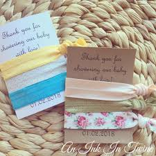Hair Tie 3 Pack Baby Shower Thank You Hair Tie Favours Oh Baby Unisex Baby Shower Unisex Baby Shower Favours Unique Baby Shower Prize