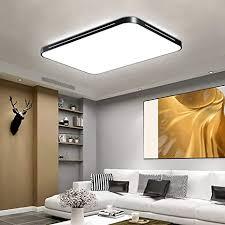 deckenleuchte led 128w kaltweiß ultradünn 50 mm deckenle wohnzimmerle design für kinderzimmer schlafzimmer flur wohnzimmer 6000 6500k 10240