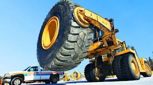 100 Big Truck Repair Replacement Of 6000 Extreme Tires On BIG And