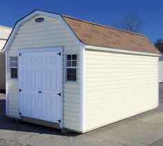 Metal Storage Shed Doors by Vinyl Storage Sheds Leonard Buildings U0026 Truck Accessories