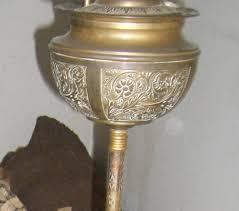 Ebay Antique Kerosene Lamps by Antique Lamp Stand Ebay