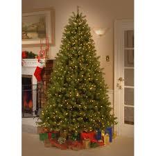 Downswept Pencil Christmas Tree by The Holiday Aisle Douglas Fir 7 5 U0027 Green Downswept Artificial