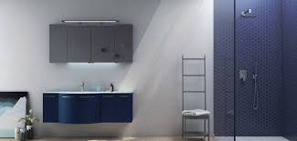 blaue badmöbel und blaue waschtische bad direkt