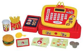 cuisine mcdonald jouet mcdonalds caisse enregistreuse électronique pour