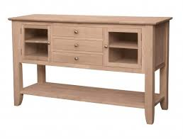 Unfinished Sideboards And Servers Rh Pinewoodfurniture Net Solid Wood Buffet Dining Room Buffets