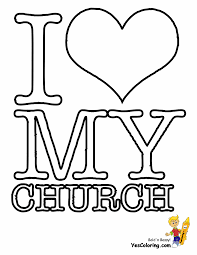 Coloring Page Church Pages Best Adresebitkisel