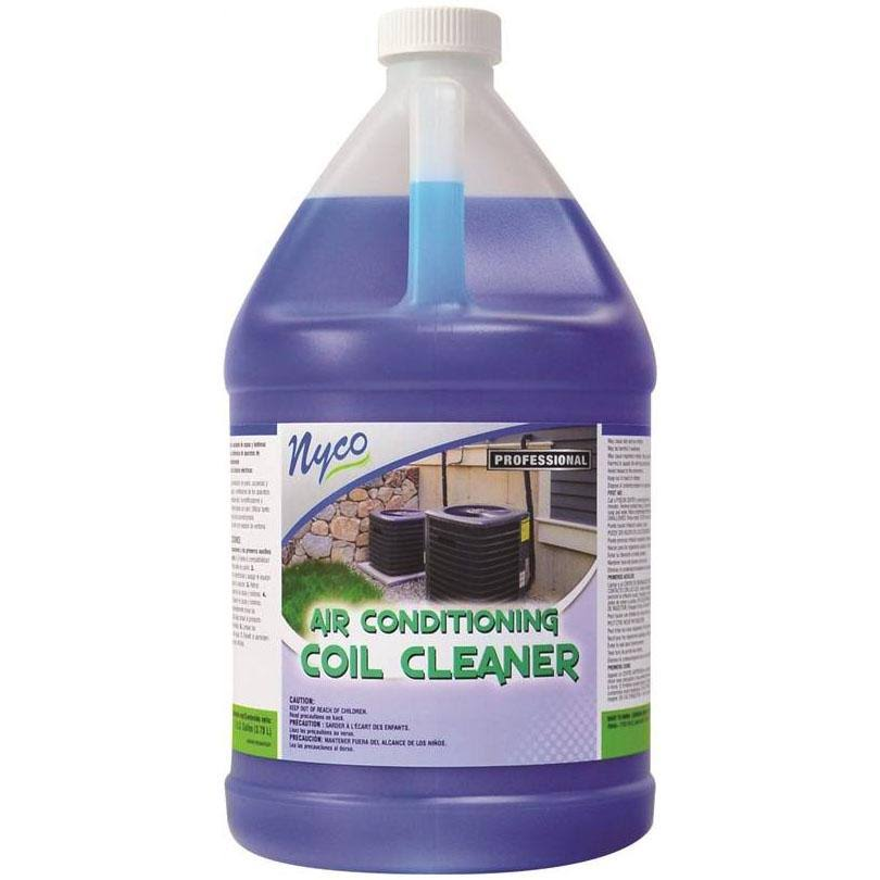 Nyco Blue Liquid Air Conditioner Coil Cleaner - 128oz