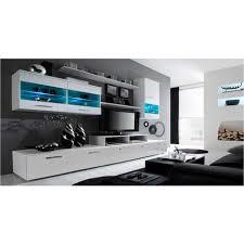 möbel tv möbel set glanzlack wohnwand wohnzimmer wohnzimmerschrank anbauwand esszimmer mit leds weiß matt und weiß lackiert maße 250 x 194 x