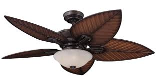 Palm Leaf Shaped Ceiling Fan Blade Covers by Palm Blade Ceiling Fan With Light Mecagoch