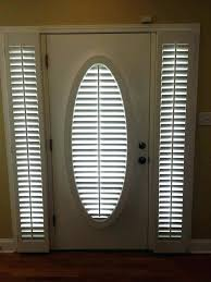 Front Door Sidelight Curtain Panels by Front Door Sidelight Curtains Panel Roman Shades Glass Blinds