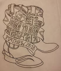Line Drawings On Transfer Paper