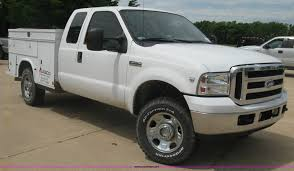 2006 Ford F350 SuperCab Utility Truck   Item H8550   SOLD! J...
