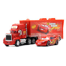 Disney Pixar Cars 2 Toys 2pcs Lightning McQueen Mack Truck The King ... Disneypixar Cars Mack Hauler Walmartcom Amazoncom Bruder Granite Liebherr Crane Truck Toys Games Disney For Children Kids Pixar Car 3 Diecast Vehicle 02812 Commercial Mack Garbage Castle The With Backhoe Loader Hammacher Schlemmer Buy Lego Technic Anthem Building Blocks Assembly Fire Engine With Water Pump Dan The Fan Playset 2 2pcs Lightning Mcqueen City Cstruction And Transporter Azoncomau Granite Dump Truck Shop