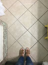 your tile floors paint them lolly