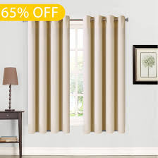 Sound Reducing Curtains Amazon by Amazon Com Balichun 2 Panels Blackout Curtains Thermal Insulated