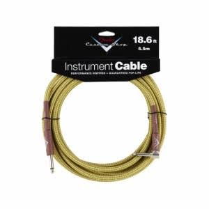 Fender Performance Series Right Angle Instrument Cable - 18.6ft